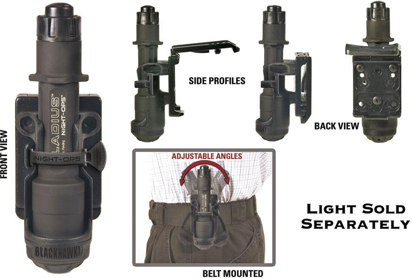 bh night ops flashlight holder