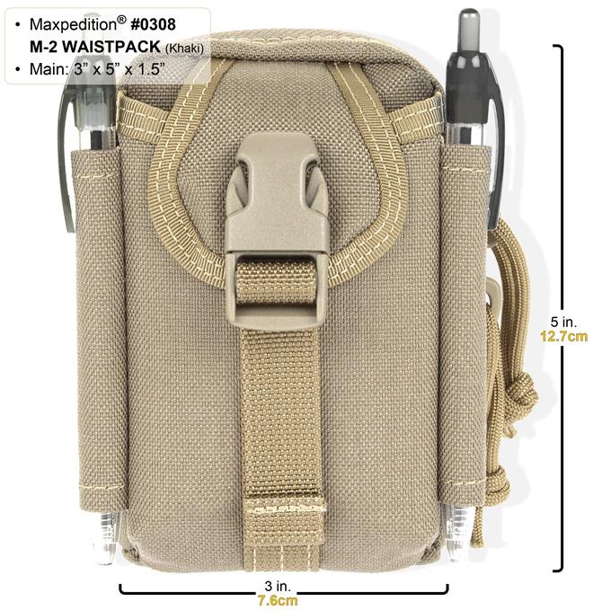 m2 waistpack khaki