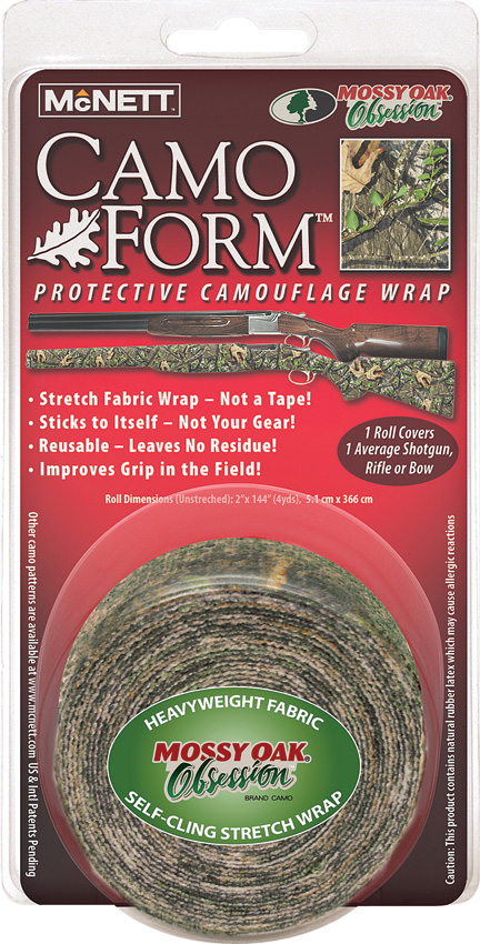 MCN19503 Camo Form Self Cling Wrap