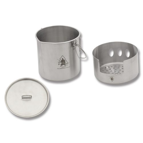 PTH012 Pathfinder Stainless Bush Pot Cooking Kit