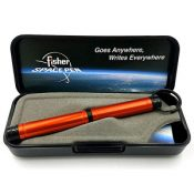 Fisher Backpacker Pen, Colored Aluminum wKey Chain, Orange