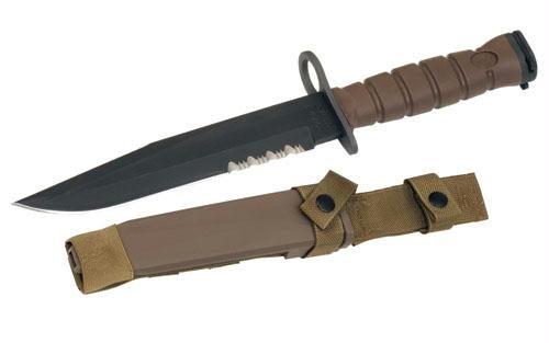 Ontario Marine Bayonet Fixed 8.0 in Combo Blade Polymer