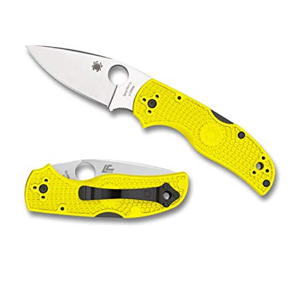 Spyderco Native 5 PE Salt Yellow C41PYL5