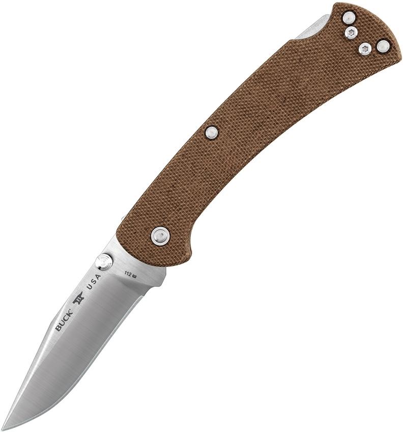 BU112BRS6 112 Slim Pro Lockback Brown