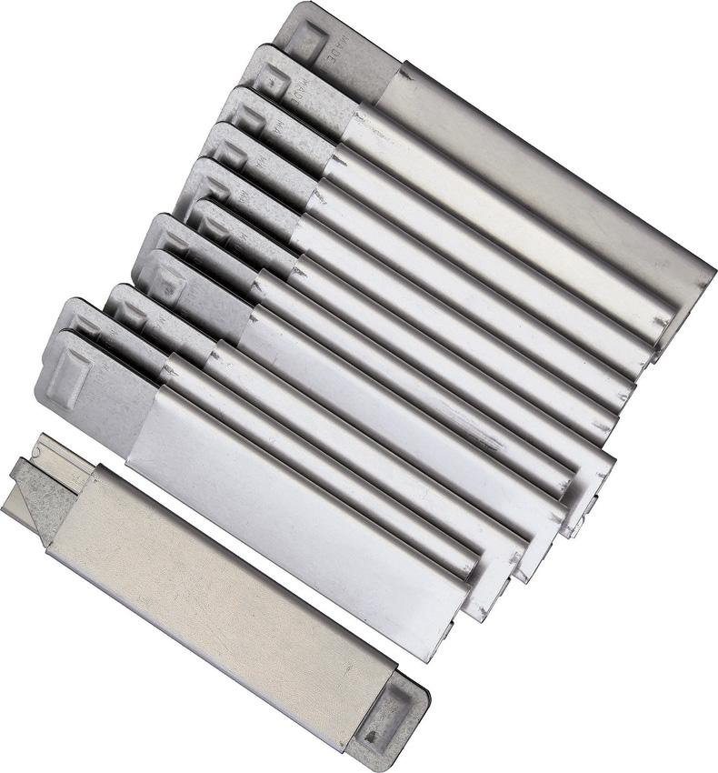 EXB16112 K12 Flat Metal Knife 12pk