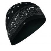 Zan headgear sportflex beanie black paisley