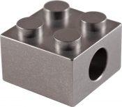 TEC311 T-Brick Titanium Lanyard Bead