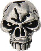 SMUKEP Emerson Skull Bead Pewter