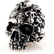 SMUKMP Mind Skull Bead Pewter