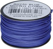 RG1292 Micro Cord 125ft Royal Blue