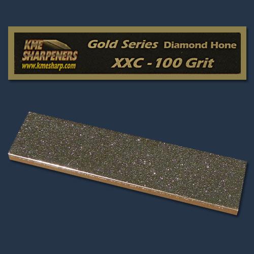 KME Gold Series XX-Coarse Diamond Hone, 100 grit GS-100
