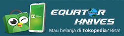 Equator Knives di Tokopedia