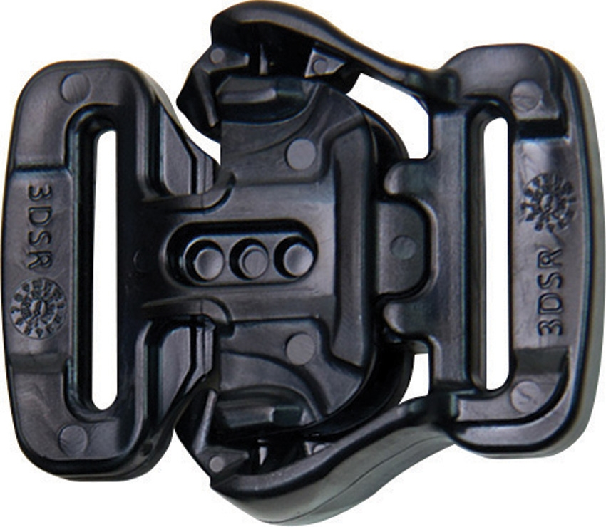 ITW1013333B 3DSR Tactical Buckle Black
