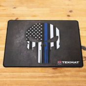 TekMat Ultra 20 Punisher Blueline Gun Cleaning Mat