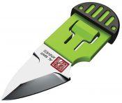 AMK1001BKGBL Stinger Keyring Knife Green